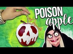 DIY POISON APPLES! ♥ Halloween Room Decor & Gift Ideas! - YouTube