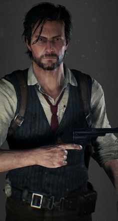 Sebastian Castellanos classic outfit from The Evil Within 2