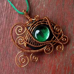 Wire wrapping soutěž - topic, téma - HERE              Wire-wrapped piece that i made whole myself. Ther is a little of  steampunk and a lit...