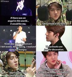 My sehun oppa K Pop, Sehun, Exo Ot12, Chanbaek, Bts Got7, Exo Memes, Funny Memes, Kdrama Memes, Xiuchen