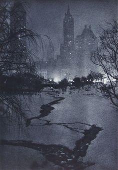 White Night by Adolf Fassbender