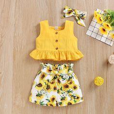 Girls Frock Design, Baby Dress Design, Kids Frocks Design, Baby Frocks Designs, Kids Dress Wear, Little Girl Outfits, Little Girl Dresses, Baby Dresses, Girls Dresses