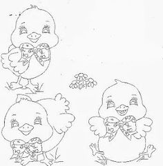 Desenhos de pintinhos para pintar fraldas. Coloring Sheets, Coloring Pages, Digi Stamps, Animal Paintings, Fabric Painting, Line Drawing, Painted Rocks, Hand Embroidery, Clip Art