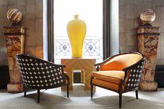 Fabulous chairs at Lorenzo Castillo in Madrid - via La Dolce Vita