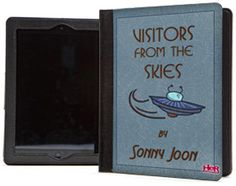 Sonny Joon book iPad folio from Nancy Drew: Tomb of the Lost Queen. Available at the Her Interactive Merchandise Store.