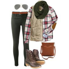 Boston for the day by pinkprep37 on Polyvore featuring H&M, Patagonia, J Brand, Tory Burch, even&odd, J.Crew, Meredith Wendell and L.L.Bean
