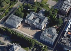 Universitetshagen i sentrum, Oslo