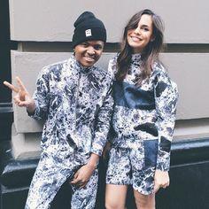 Julian Hernandez & Caroline Plummer are #Photoshoot ready! #NYC #SS15 #Shooting #Lookbook #SneakPeak #JulianHernandez JulianH.SE #CarolinePlummer RainbowDash.DK #JUNKYARD #JUNKYARDXXXY