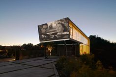 This House Comes With A Giant Cinema Screen For Outdoor Home Viewing - UltraLinx