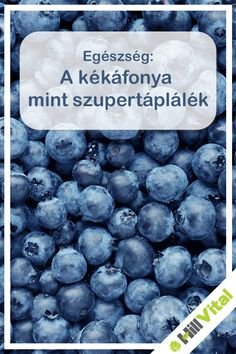 A kékáfonya mint szupertáplálék Blueberry, Fruit, The Fruit, Blueberries