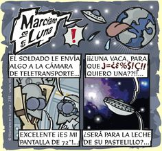 Marciano en la Luna · El envío...