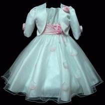 Vestido De Dama De Honra Florista Do 1 Ao 12 Ou Sob Medida