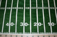 Football_field grass carpet...can get the fake grass at Home Depot...so simple and cheap!