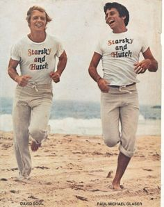 Starsky & Hutch...this picture cracks me up.  LOVED them as a kid, b/c my last name was Hutchinson