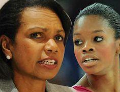 "Condoleezza Rice: ""Gabby Douglas Is A Black Hero"""