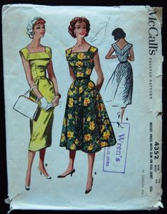 McCall's 50's Dinner Afternoon Dress Pattern No. 4352.jpg
