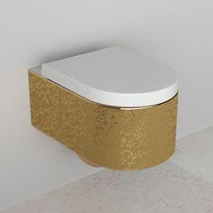 WC suspendu Orba Gold + Abattant