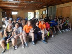 Group shot! #Friendship #FunInFrench #OvernightTrip #Team