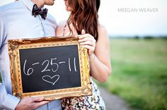 chalkboard with date