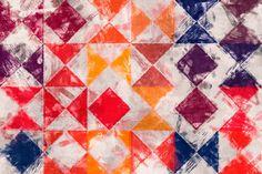 'Triangles+and+Quadrangles+-+part+two'+von+Viktor+Peschel+bei+artflakes.com+als+Poster+oder+Kunstdruck+$30.49