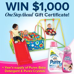 Big Grand Prize from Purex and One Step Ahead