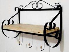 Wrought Iron Decor, Wrought Iron Gates, Wood And Metal, Metal Wall Art, Art Fer, Iron Furniture, Iron Art, Metal Crafts, Diy Wood Projects