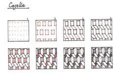Studio ML: Tangle patterns