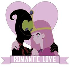 Nergal And Princess Bubblegum Romantic Love Beautiful Couple (Bubblegal) Cartoon Network HD 2017 Art By Nathaniel <3<3<3<3<3<3<3