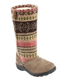 Stone Gray Auburn Boot-great fall look and great price from Zulily today.