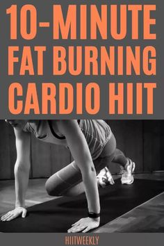 train smarter with this quick 10-minute home cardio HIIT workout plan. Workouts Without Equipment, Hiit Workouts With Weights, Circuit Training Workouts, Hiit Workouts For Beginners, No Equipment Workout, Hiit Workout Plan, Cardio Hiit, Full Body Hiit Workout, 10 Minute Workout