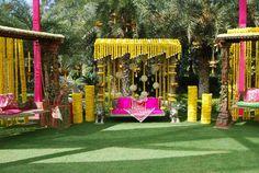 mehndi decoration idea (outdoor).....