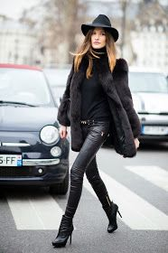 Leather pants perfect