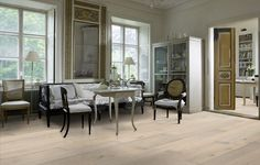 Kahrs Wood Flooring: Oak Nouveau Blonde. Beautiful.