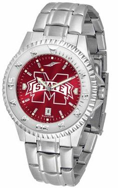 Mississippi State University Bulldogs Competitor Anochrome - Steel Band - Men's - Men's College Watches by Sports Memorabilia. $87.08. Makes a Great Gift!. Mississippi State University Bulldogs Competitor Anochrome - Steel Band - Men's