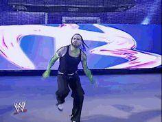 Jeff Hardy entrance at WrestleMania 23
