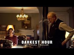 DARKEST HOUR (2017)  Official Trailer 2 [HD] - In Select Theaters November 22nd -- . A thrilling and inspiring true story begins at the precipice of World War II as, within days of becoming Prime Minister of Great Britain, Winston Churchill (Academy Award nominee Gary Oldman) must face one of his most turbulent and defining trials: exploring a negotiated peace treaty with Nazi Germany, or standing firm to fight for the ideals, liberty and freedom of a nation...   Focus Features