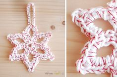 easy crochet star - something to make for next Christmas