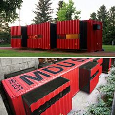 MODULAR DWELLING UNIT shipping container home