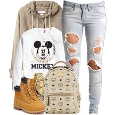 """""""Mickey"""" by oh-aurora on Polyvore"""