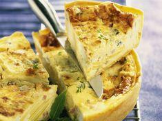 Quiche aux trois fromages - Recettes