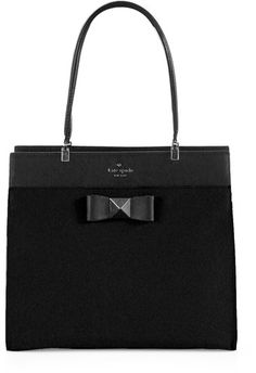 Kate Spade Bow Terrance Fulton Colorblock Top Handle Bag - Lyst