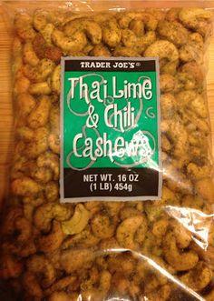 What's Good at Trader Joe's?: Trader Joe's Thai Lime & Chili Cashews