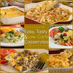 Cooking up a big meal for the whole gang? One of our favorite ways to get dinner on the table is to make a casserole! Casseroles are great 'cause they let you make a whole lot without having to do a whole lot. Below, you'll find a collection of some of our easiest and tastiest low-carb recipes for those of us who are following a diabetic diet. With these recipes for low-carb casseroles you can make a dinner that everyone will enjoy and that anyone watching their carb intake can eat! Don't…