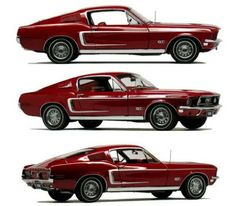 1968 GT 390 Mustang, looks like mine! Mustang Fastback, Mustang Cars, Ford Mustang Gt, Geometric Patterns, Muscle Cars, Motos Retro, Opel Gt, Classic Mustang, Pontiac Bonneville