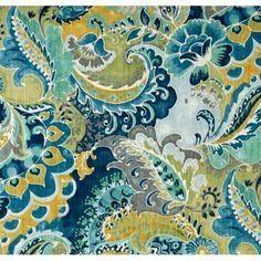 Teak Caspian Cotton Home Decor Fabric   Fabric Traders