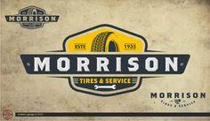 logo design for Morrison Tire
