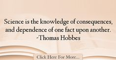 Thomas Hobbes Quotes About Science - 61727