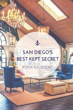 San Diego's Best Kept Secret: Kona Kai Resort Kona Kai Resort San Diego San Diego Vacation, San Diego Travel, California Love, California Dreamin', San Diego Hotels, San Diego Bars, San Diego Resorts, Old Town San Diego, The Places Youll Go