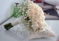 Ramo de flores para una novia romántica