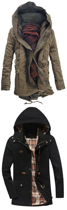 Up to 80% OFF! Hooded Double Zip Up Padded Parka Coat. #Zaful #hoodies Zaful, zaful outfits, zaful sweater, zaful men, mens top,men fashion, man sweatshirts, man hoodies,man outfits, hoodies men swag, hoodies men pullover, jackets men, t-shirts,long sleeve t shirts,v neck t shirts, denim jacket, winter outfits, winter fashion, fall fashion, fall outfits, Christmas, ugly, ugly Christmas, Thanksgiving, gift, Christmas hoodies, Black Friday, Cyber Monday @zaful Extra 10% OFF Code:ZF2017